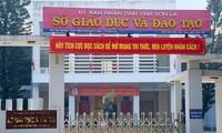 Trụ sở Sở GD&ĐT Sơn La Ảnh: Nguyễn Hoàn
