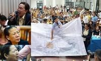 Nhiều người dân Thủ Thiêm bức xúc trình bày nỗi khổ vì dự án mỗi khi có đợt tiếp xúc cử tri