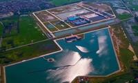 Giá nước từ Nhà máy nước sông Đuống bán cho dân tối đa 10.000 đồng/m3 ảnh: Mạnh Thắng