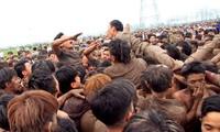 Đã 2 năm, Phú Thọ bỏ hoạt động cướp phết trong hội phết Hiền Quan (ảnh tư liệu)