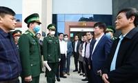 Đoàn công tác của Bộ Y tế kiểm tra công tác chống dịch Covid -19 tại tỉnh Cao Bằng