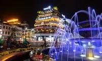 Hà Nội và TP HCM là hai thành phố lớn có nhiều tiềm năng phát triển kinh tế ban đêm Ảnh minh họa