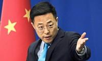 Người phát ngôn Bộ Ngoại giao Trung Quốc Triệu Lập Kiên