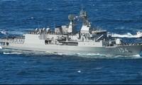 Tàu chiến Úc nhiều lần đối đầu với tàu Trung Quốc trên biển Đông