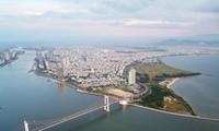 Thành phố Đà Nẵng nhìn từ trên cao Ảnh: Thanh Hiếu