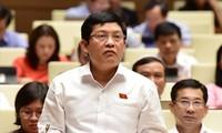 Đại biểu Quốc hội Phan Nguyễn Như Khuê, Trưởng Ban Tuyên giáo Thành ủy TPHCM trả lời báo chí tối 1/9