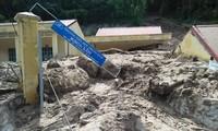 Hình ảnh mưa lũ tàn phá khủng khiếp ở Mường Lát