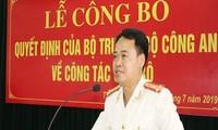 Bộ Công an bổ nhiệm Trưởng Công an thành phố Thanh Hoá