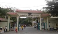 Bệnh viện đa khoa Thanh Hoá theo dõi đặc biệt bệnh nhân trở về từ Vũ Hán