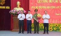 Công bố quyết định điều động, bổ nhiệm giám đốc Công an tỉnh Thanh Hoá