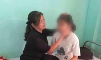 Một trong hai nạn nhân của vụ hành hung đang được điều trị tại một cơ sở y tế