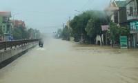 Mưa bão trắng trời Quảng Bình, nguy cơ ngập lụt trên diện rộng