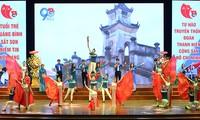 Tiết mục nghệ thuật chào mừng lễ kỷ niệm 90 năm ngày thành lập Đoàn TNCS Hồ Chí Minh (26/3/1931 - 26/3/2021) của Tỉnh Đoàn Quảng Bình.