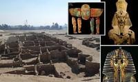 """""""Thành phố vàng"""" 3.500 năm tuổi vừa được phát hiện còn nguyên vẹn ở Luxor, Ai Cập."""