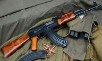 Fan cuồng Nga ở Đức đã bị cảnh sát phát hiện có tàng trữ vũ khí nguy hiểm khi ăn mừng chiến thắng.