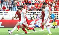 Đội tuyển Việt Nam đã có màn trình diễn khá tốt trước Iran.