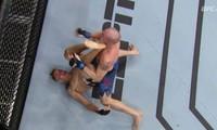 Niko Price ra đòn hạ knock-out đối thủ.
