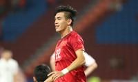 VIDEO: Tiến Linh ghi bàn đầu tiên cho Việt Nam ở U23 châu Á
