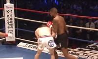 Jordann Pikeur ra đòn hạ đo ván đối thủ.