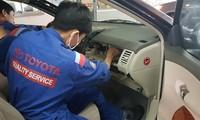 Xe Toyota lỗi túi khí Takata được thay thế ra sao?
