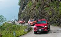 Chinh phục 3 cột mốc biên giới với Chevrolet Colorado 2018