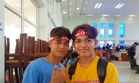 Du học sinh Campuchia sôi nổi tham gia Chủ nhật Đỏ