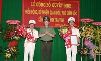 Đại tá Vũ Hoài Bắc làm Giám đốc Công an Trà Vinh