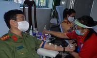 Công an Sóc Trăng phát động hiến máu tình nguyện