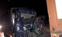 Xe tải tông xe đầu kéo trên cao tốc TP HCM – Trung Lương, 2 người tử vong