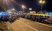 Bắt giữ 52 đối tượng đua xe trên cầu Cần Thơ lúc rạng sáng