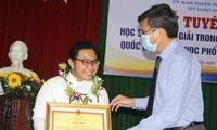 Kiên Giang: 11 học sinh đạt giải quốc gia được thưởng từ 20 - 80 triệu đồng/bạn
