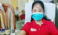 Ngày hội hiến máu tình nguyện ở huyện Cù Lao Dung