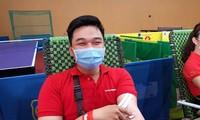 Chủ nhật Đỏ tại Cà Mau: Cựu sinh viên 27 lần hiến máu