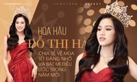 Hoa hậu Đỗ Thị Hà chia sẻ về mùa Tết đáng nhớ và bật mí điều ước trong năm mới