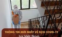 Thông tin mới nhất về diễn biến dịch COVID-19 tại Việt Nam