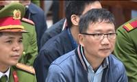 Trịnh Xuân Thanh trước tòa