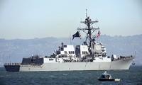 USS Stockdale, con tàu vừa đi ngang qua eo biển Đài Loan Ảnh: navysite.de