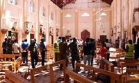 Quang cảnh hiện trường các vụ đánh bom đẫm máu Ảnh: CNN