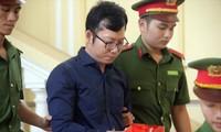 Nguyên Tổng giám đốc Công ty CP ô tô Âu Châu Nguyễn Đăng Thảo tại tòaẢnh: Tân Châu