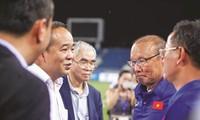 Theo Thứ trưởng Bộ VHTTDL kiêm Chủ tịch VFF Lê Khánh Hải, khả năng tái ký hợp đồng giữa VFF và HLV Park Hang Seo là rất cao ảnh: CTV