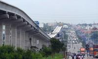 Tuyến Metro TP Hồ Chí Minh chậm tiến độẢnh: PV