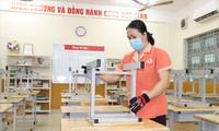 Công tác tiêu độc, khử trùng, dọn dẹp vệ sinh lớp học ở các trường tại TPHCM