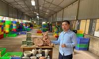 PGS.TS Tống Trung Tín trình bày một số nét nổi bật của đợt khai quật năm 2019