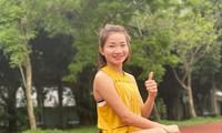 VĐV Nguyễn Thị Oanh tập luyện chờ ngày trở lại ảnh: CTV