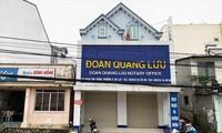 Ngôi nhà 20C Phan Chu Trinh của bà Liên đang bị tòa phong tỏa