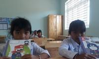 Học sinh một trường tiểu học ở huyện miền núi Khánh Vĩnh, tỉnh Khánh HòaẢnh: Chế Diễm Trâm