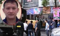 Cảnh sát khám xét cơ sở của Nhật Cường thời điểm khởi tố vụ án