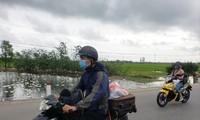 """Năm nay, nhiều bạn trẻ làm việc ở Đà Nẵng lựa chọn """"phượt"""" về quê ăn Tết bằng xe máy vì lo ngại dịch bệnh COVID - 19 Ảnh: Giang Thanh"""
