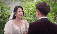 """Cây Táo Nở Hoa: Trúc (Minh Trang) xách váy cưới đến hôn lễ người yêu """"đại chiến"""" tình địch"""