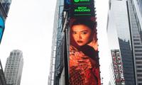Fan V-Pop sửng sốt khi hình ảnh Bích Phương xuất hiện tại quảng trường Thời đại ở New York